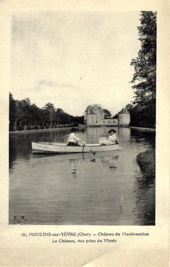 Carte postale du Château de Maubranche