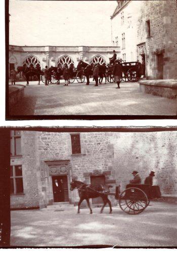 Attelages au Château de Maubranche